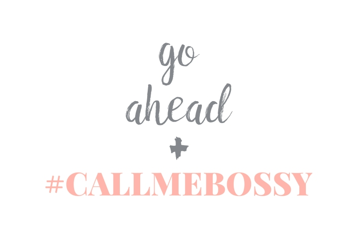 Call Me Bossy Profiles Launch Tomorrow