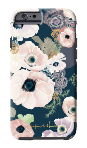 "Phone case from the Khristian Howell ""Une Femme"" Collection"